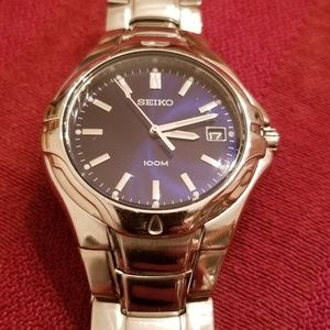 Seiko Mens Watch- runs great!